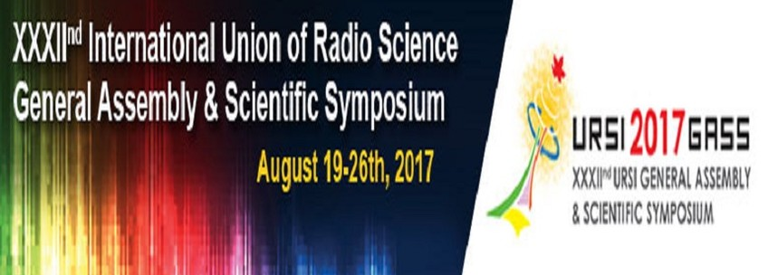 Banner 32nd International Union of Radio Science