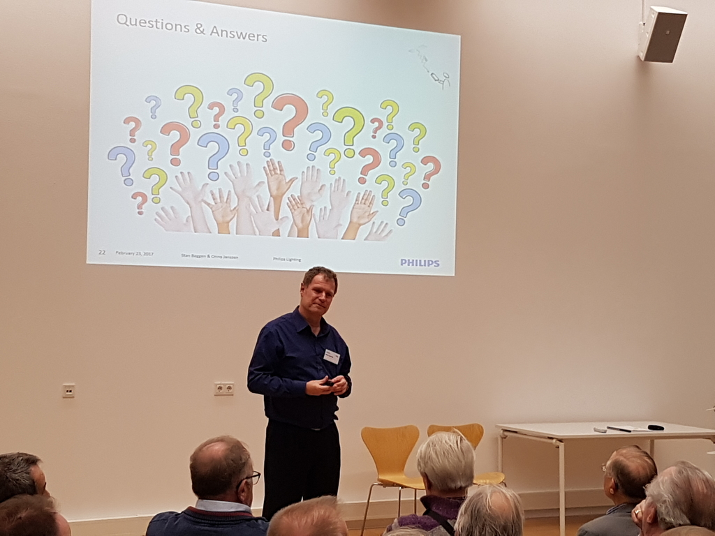 Questions answered by Ir. Onno Janssen Philips Lighting - © Royal Dutch Engineering Society department Electrical Engineering